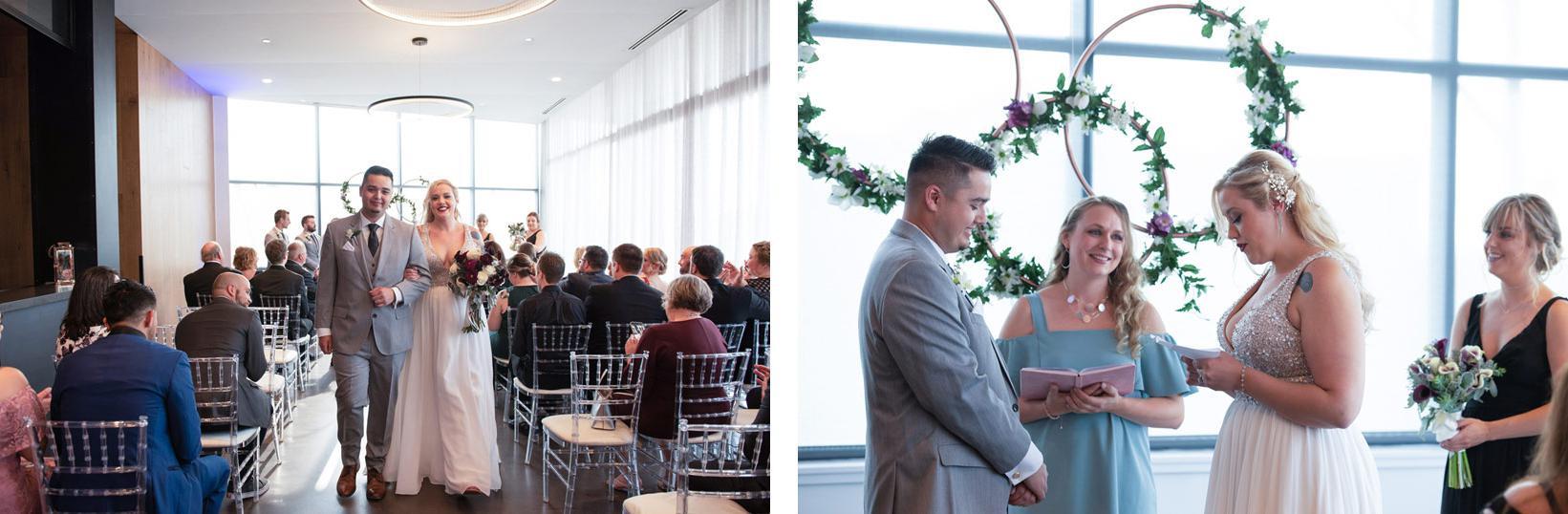 蓝盘副厨梅丽莎·切克尼奥主持婚礼.